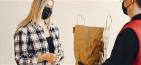 Generic Delivery Image of people in Face masks