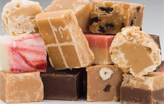 Selection of mouth-watering homemade fudge