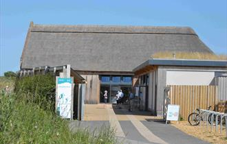 A photo of Hengistbury Head Visitor Centre