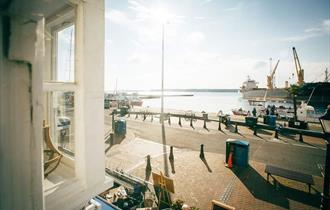Best view of Poole Quay