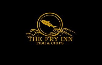 fry inn logo gold on black