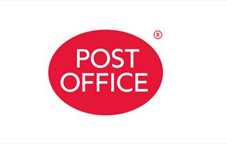 red post office logo.