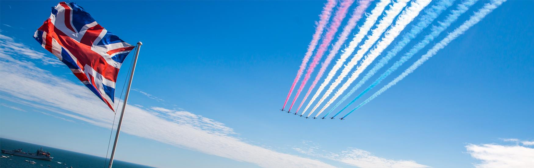 Spectacular events this summer! Such as the Bournemouth Air Festival 30 Aug - 2 Sep 2018