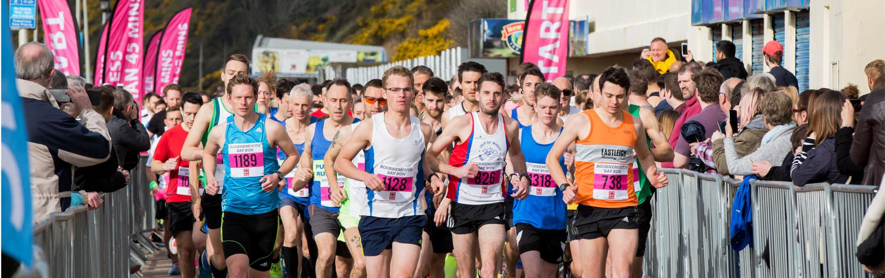 Super sports events this year such as the Bournemouth Bay Run