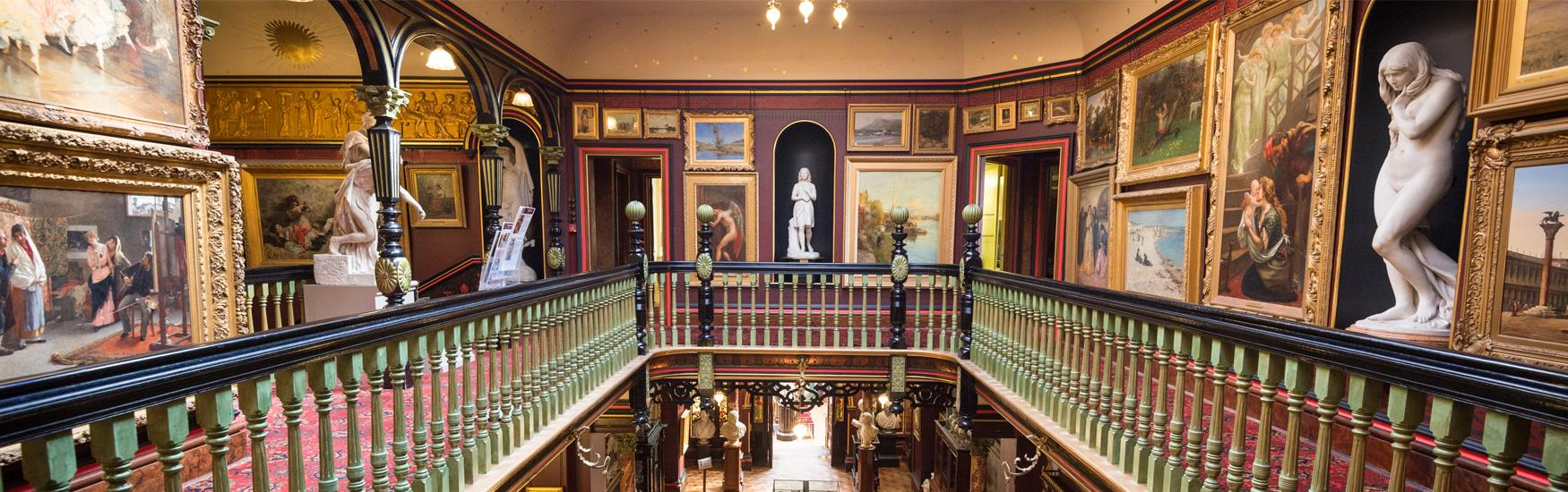 Visit the beautiful Russell-Cotes Art Gallery & Museum