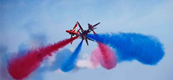 Award-winning and internationally renowned, the Bournemouth Air Festival has entertained more than 9.2 million people since 2008