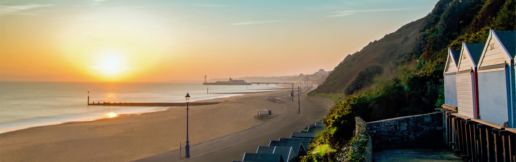Enjoy Autumn in beautiful Bournemouth