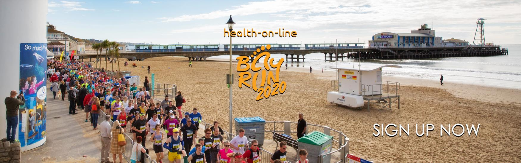 Sign up for the Bournemouth Bay Run