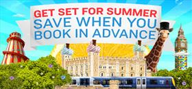South Western Railway summer advert placeholder