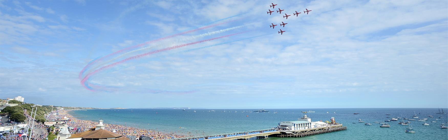 Bournemouth Air Festival: 30 August - 2 September 2018