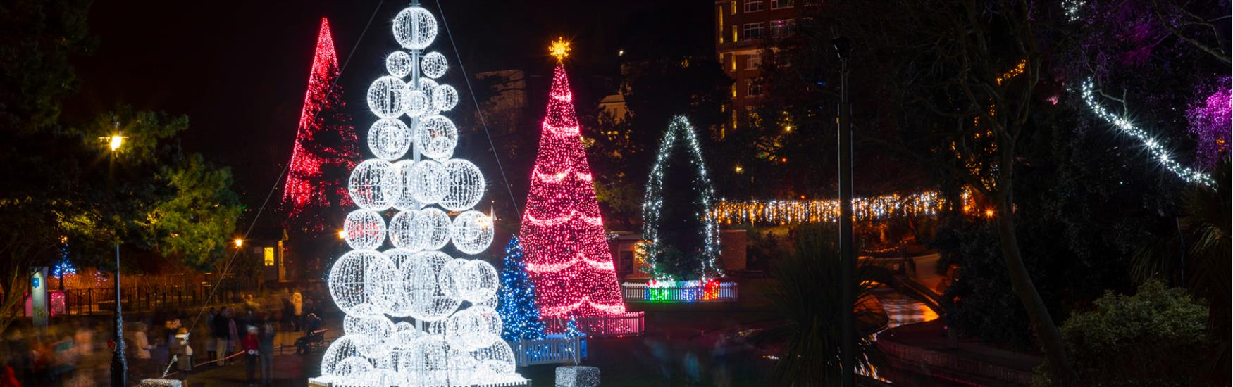Visit the spectacular Bournemouth Christmas Tree Wonderland until 2nd January 2020