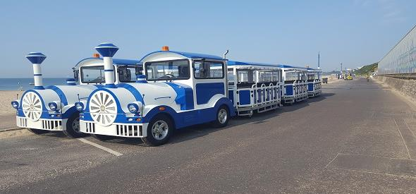 Welcome Flotsam & Jetsam to our land train fleet
