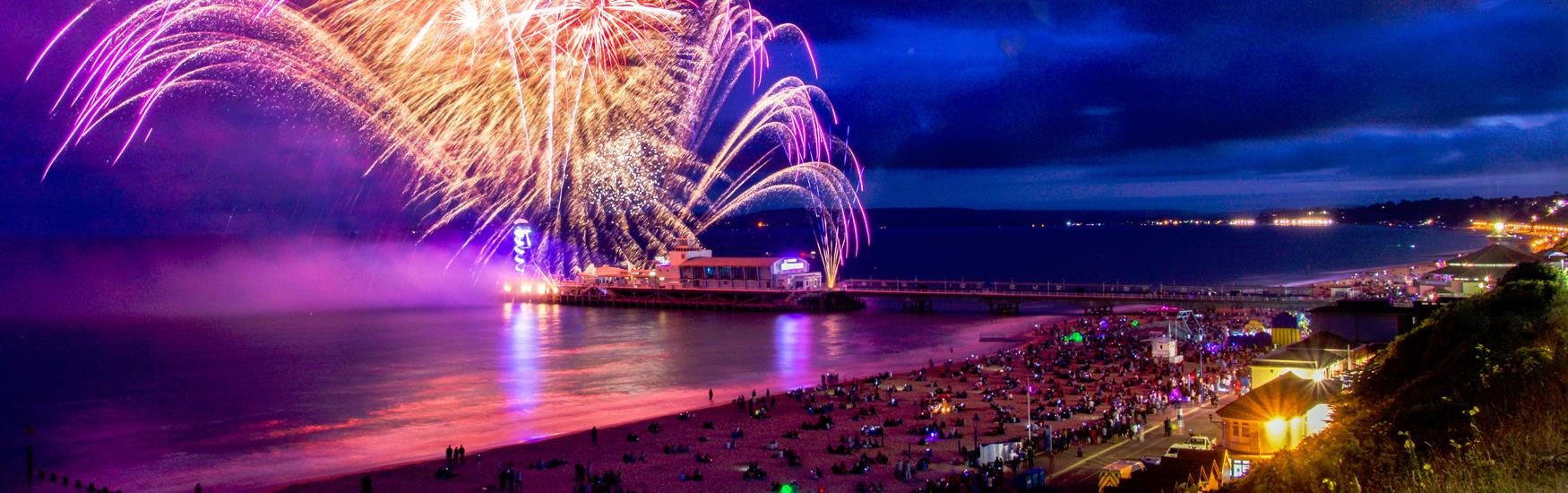 Bournemouth Friday Fireworks: 4, 11, 18 & 25 August