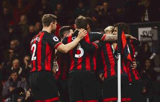 Photo of AFC Bournemouth players celebrating