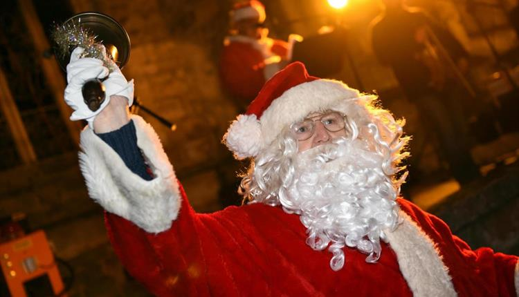 Christmas In Southbourne- Santa On The Green