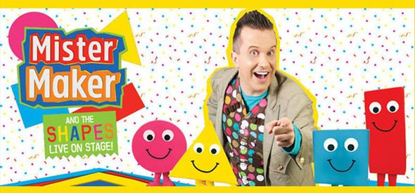 Mister Maker & The Shapes Live!