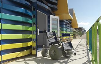 Accessible Beach Huts
