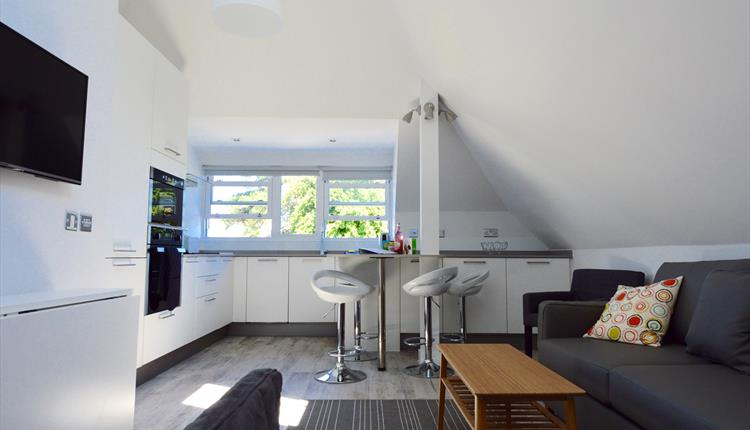 Bournemouth Holiday Apartments Lounge Self Catering