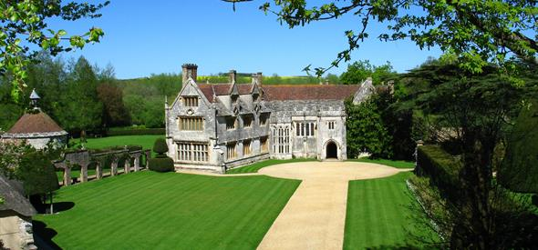 Athelhampton House and Gardens Outside View