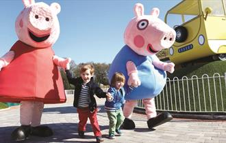 Paultons Family Theme Park Attraction Peppa Pig World