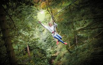Go Ape at Moors Valley Dorset High Ropes