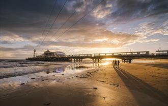 Bournemouth Pier at Sunset by Emily Endean