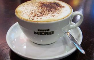 Caffe Nero coffee cup