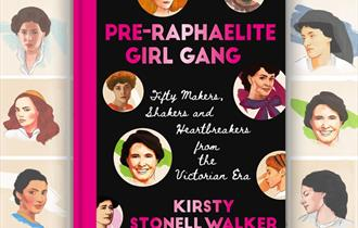 Kirsty Stonell-Walkers book the Pre-Raphaelite girl gang