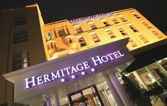 The Hermitage Hotel Bournemouth Outside