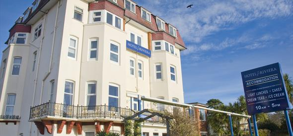 Bournemouth Hotel Riviera by the Sea - new exterior main