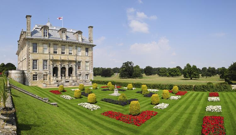 Kingston lacy house and garden main exterior