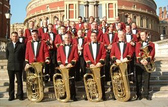 Last night of the proms band