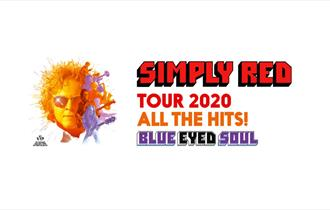 Simply red promo banner white background.