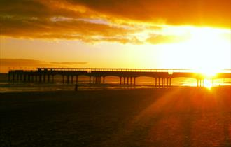 Sorted Surf School Bournemouth Pier Sunset