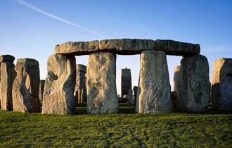Stonehenge - the hard, textured megaliths of Stonehenge