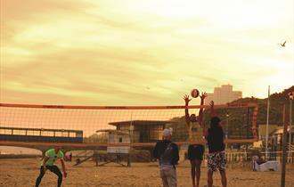 Volleyball at Boscombe