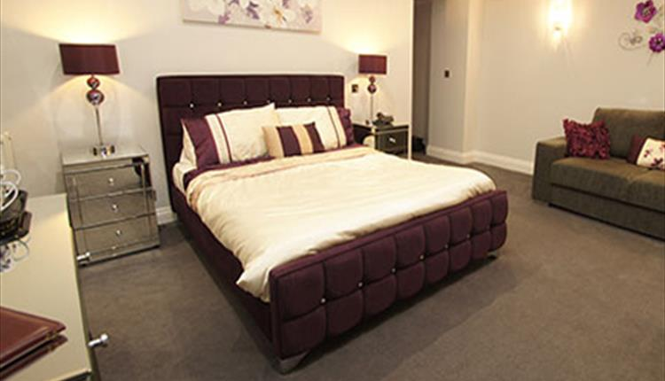 New Westcliff Hotel Bournemouth Bedroom