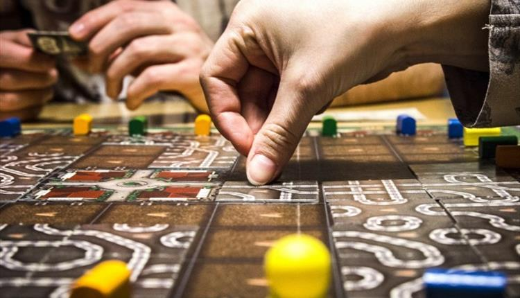 Board game fridays at Russell-cotes cafe