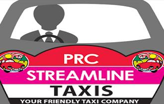 PRC Streamline Taxis your friendly taxi company logo