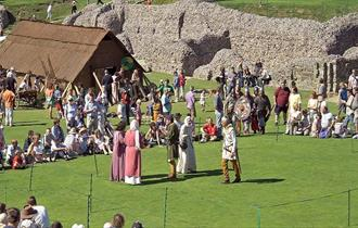 Old Sarum Reinactment Salisbury