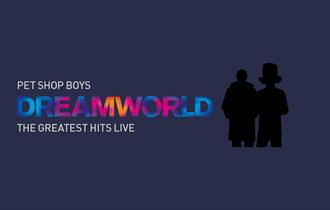Duo silhouetted against a purple background with 'Dreamworld' title text infront