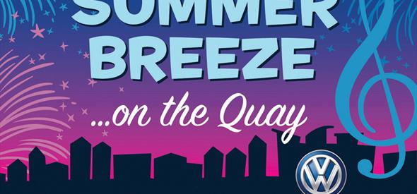 Summer Breeze on the Quay - with Fireworks including Poole's spectacular Cycle Celebration