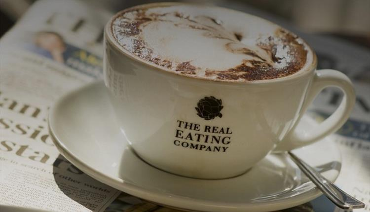 the real eating company coffee image